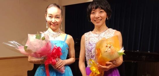 音羽さんと有田の写真